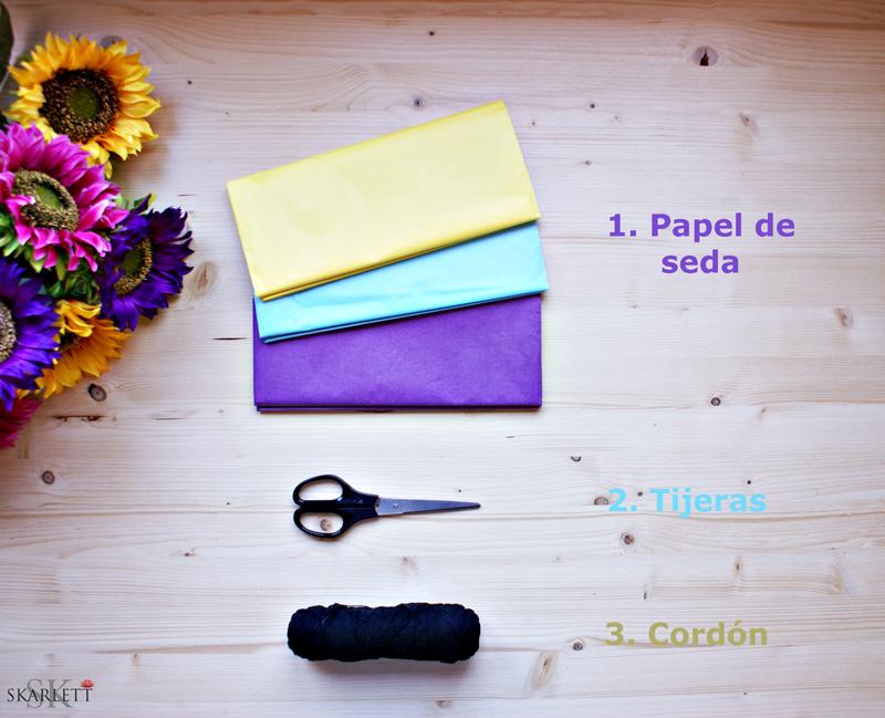 pompones_papel_materiales